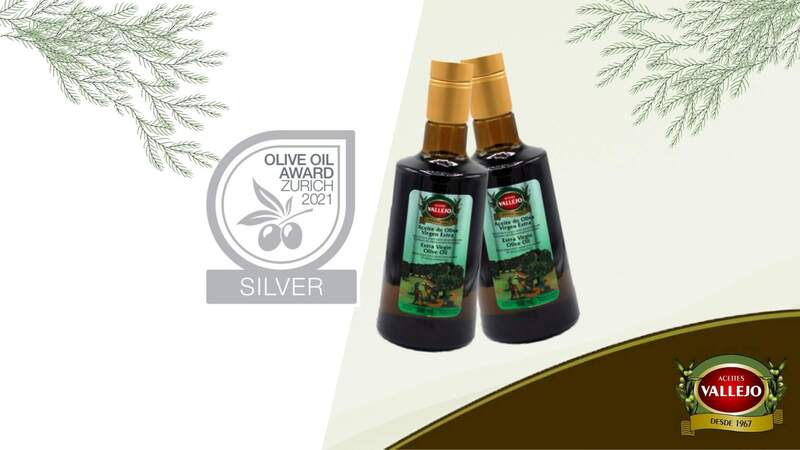 Aceites Vallejo is awarded the Silver Medal at the Zurich Olive Oil Awards